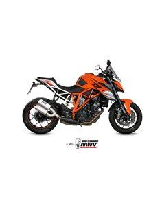 Escape KTM 1290 Superduke 2014-2019 Mivv MK3 Acero Inox 2 Salidas KT.022.LM3X