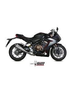 Escape completo Honda CB650R CBR650R 2019 Mivv Delta Race Inox H.072.LDRX
