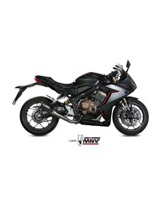 Escape completo Honda CB650R CBR650R 2019 Mivv MK3 Carbono H.072.SM3C