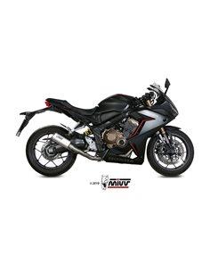 Escape completo Honda CB650R CBR650R 2019 Mivv MK3 Acero Inox H.072.SM3X