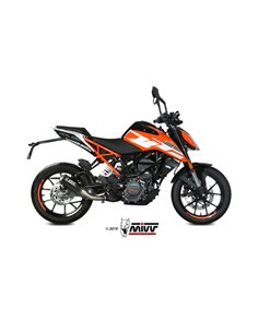 Escape KTM 125 Duke 2017-2019 Mivv MK3 Carbono KT.019.SM3C