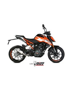 Escape KTM 125 Duke 2017-2019 Mivv MK3 Inox KT.019.SM3X