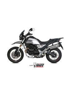 Escape Moto Guzzi V85 TT 2019 Mivv Speed Edge Acero Inox M.013.LRX