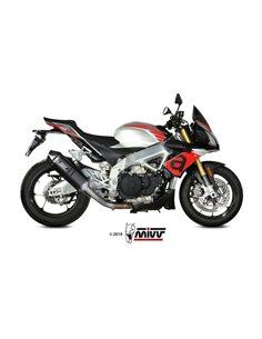 Escape Aprilia Tuono V4 1100 2018-2019 Mivv Speed Edge Black A.012.LRB
