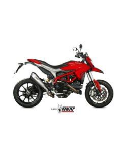 Escape Ducati Hypermotard 939 2016-2018 Mivv Delta Race Acero Inox Black D.043.LDRB