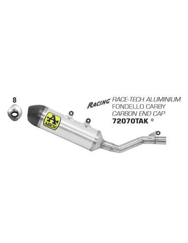 Escape Beta 350 / 390 / 430 / 480 RR 2020 Arrow Race-Tech Aluminio 72070TAK