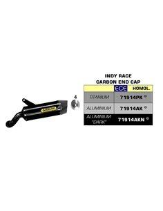 Escape Kawasaki Ninja 1000 SX 2020 Arrow Indy Race Aluminio Dark 71914AKN