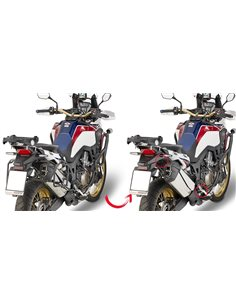 Fijacion portamaletas lateral Honda Africa Twin CRF 1000 L 2016-2017 GIVI MONOKEY PLR1144