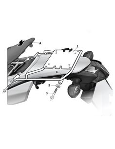Maleta CRF 250 L /RL 2013-2018 fijacion superior Shad Honda Honda