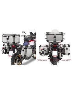 Maletas laterales Honda Africa Twin CRF1000L 2016-2017 con fijación Givi Monokey Cam Side PL1144CAM