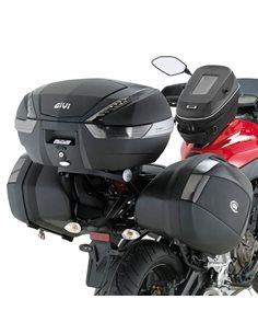 Fijación top box Givi 2118FZ Yamaha MT-07 Maleta Monokey o Monolock central