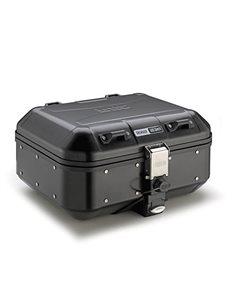 Baul GIVI TREKKER DOLOMITI 30 litros DLM30B Aluminio pintado en negro