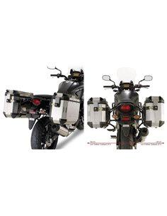 Maletas laterales Honda CB 500 X 2013-2018 Fijación Givi PL1121CAM Trekker Outback