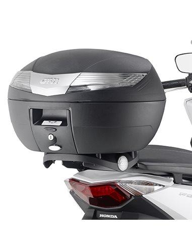 Maleta superior Honda Forza 125 2015-2018 Fijación Givi SR1166