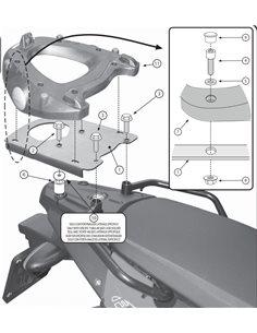 Fijacion maleta superior BMW F 650 GS F 800 GS 2008-2016 Givi SR5107
