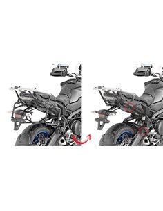 Maletas laterales Yamaha Tracer 900 / GT 2018 Fijación lateral Givi PLR2139