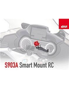 Soporte movil navegador bomba freno embrague GIVI S903A