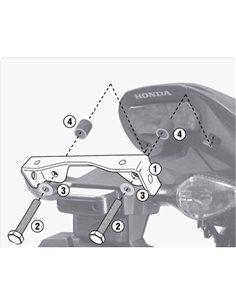 Kit especifico para Honda CB650F / CBR650F 2014-2016 Givi 1137KIT