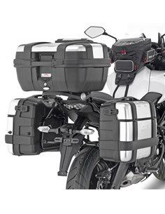 Fijacion maletas laterales Kawasaki Versys 650 2015-2018 Givi PL4114