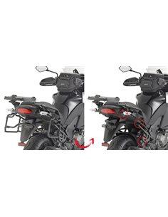 Fijacion maleta lateral Kawasaki Versys 1000 2015-2016 Givi PLXR4113