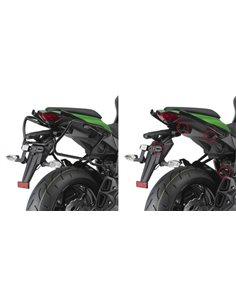 Fijacion baul Kawasaki Z1000 SX 2011-2018 Givi Monokey PLXR4100