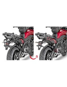 Fijacion maletas lateral Yamaha MT-09 Tracer 2015-2017 Givi PLXR2122