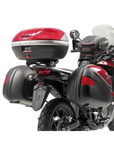Fijación baul Honda XL 700V Transalp 2008-2013 Givi E225
