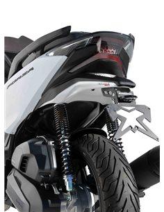 Paso de rueda Forza 300 2018-2019 Ermax Gris mate NH312M