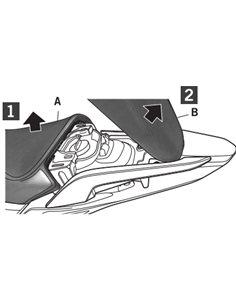 Fijacion lateral Honda Integra 750 2016-2018 Shad 3P System H0NG77IF