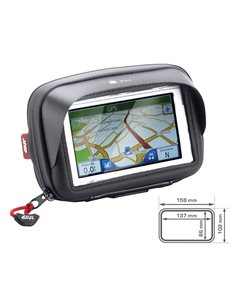 Funda porta GPS Móvil Universal horizontal Givi S954B