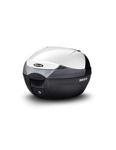 Kit Maleta Sym Mio 115i 2018-2019 HD300 2019 SH33 Blanco