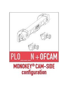 Kit de montaje para maletas Monokey Camside del portamaletas lateral específico PL ONE-FIT NEUTRO