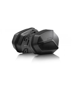 Pack maletas laterales fijacion Aero ABS Honda CB500F 2013-2016 CB500X 2013-2019 CBR500R 2012-2015 SW-Motech KFT.01.400.60100/B