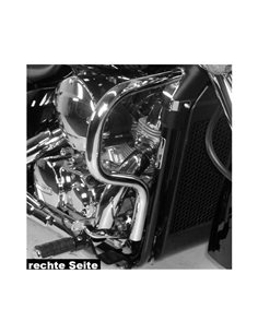 Defensas motor Honda VT 750 Shadow 2004-2007 Cromado
