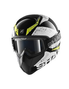 Casco Shark Vancore Braco Black/White/Yellow HE3905EKWY