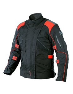 Chaqueta Cordura ON BOARD FORWARD Negro/Rojo
