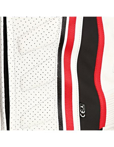 Mono Bering PIEL SUPRA-R (CE) Negro/Blanco/Rojo