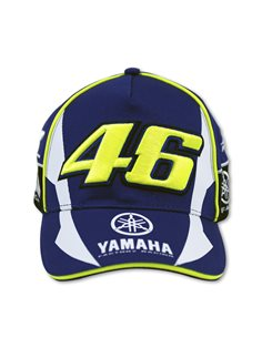 GORRA VR46 BLUE ROYAL YAMAHA