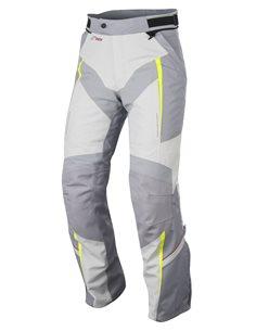 Pantalon Alpinestars Yokohama Drystar Gris/Gris Claro/Amarillo Fluor