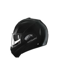 Casco Shark Evoline Series3 Uni Black Solid BLK HE9350EBLK de moto