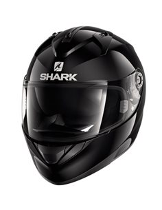 CASCO SHARK RIDILL NEGRO BRILLO