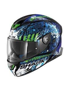 Casco Shark Skwal 2 Switch Rider 2 Negro/Azul/Verde HE4942EKBG
