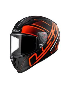 Casco LS2 FF323 Arrow R evo ION Negro/Rojo