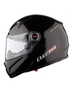 Casco LS2 FF396 FT2 Solid Negro