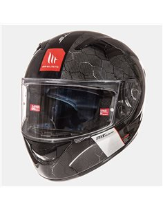 Casco MT KRE Snake Carbono Solid