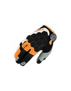 Guantes On Board KX-3 Negro/Naranja/Blanco GKKX3BOW
