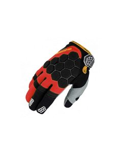 Guantes On Board KX-3 Negro/Rojo/Blanco GKKX3BR