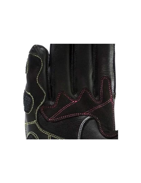 Guantes On Board WRX-1 Mujer Negro/Blanco/Rosa GLWR1BWP