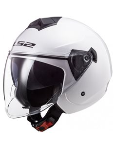 Casco LS2 OF573 Twister II Solid Blanco