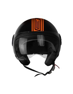 Casco Jet Origine Neon Street Orange Solo